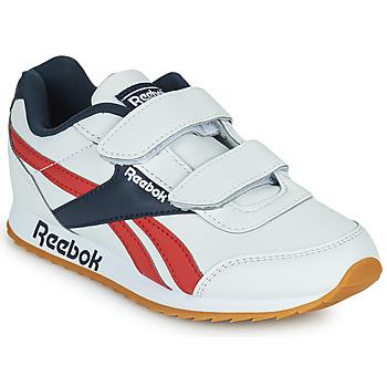 Scarpe Unisex bambino Sneakers basse Reebok Classic REEBOK ROYAL CLJOG 2 2V Bianco / Marine / Rosso