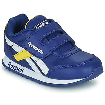 Scarpe Unisex bambino Sneakers basse Reebok Classic REEBOK ROYAL CLJOG 2  KC Blu / Giallo / Bianco