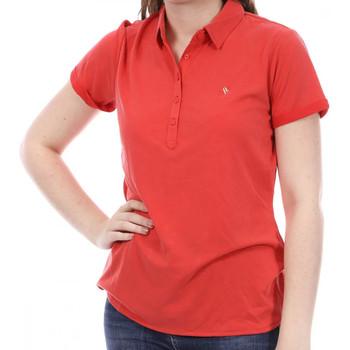 Abbigliamento Donna Polo maniche corte Sun Valley SV-ARAWA Rosso