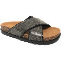 Scarpe Donna Sandali Gold&gold sandalo con strass DS21GG53 Black