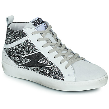 Scarpe Donna Sneakers alte Semerdjian ALFA Beige / Nero