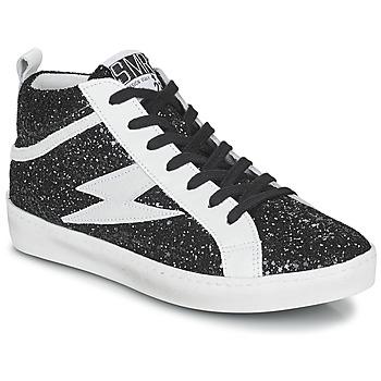 Scarpe Donna Sneakers alte Semerdjian ALFA Nero / Bianco