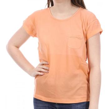 Abbigliamento Donna T-shirt maniche corte Sun Valley SV-AKRON Arancio