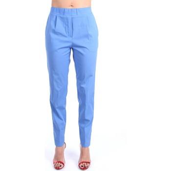 Abbigliamento Donna Chino Anna Seravalli S914 Chino Donna Blu Blu