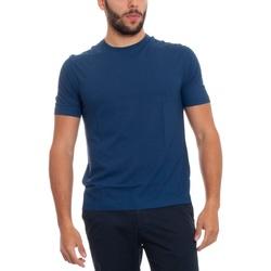 Abbigliamento Uomo T-shirt maniche corte Lardini EL56022-830 Blu