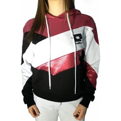 Abbigliamento Donna Felpe Lotto LTD446 BIANCO/FUXIA