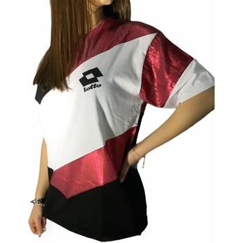 Abbigliamento Donna T-shirt maniche corte Lotto LTD445 BIANCO/FUXIA