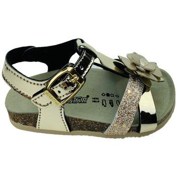 Scarpe Bambina Sandali Gold Star 8880T  PLATINO Oro