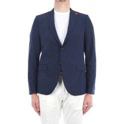 Abbigliamento Uomo Giacche / Blazer Manuel Ritz 3032G2950-213139 Blazer Uomo Blu Blu
