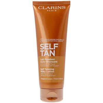 Bellezza Donna Protezione solare Clarins Solaire Cr�me D�licieuse Auto-bronzante  125 ml