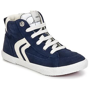 Scarpe Bambino Sneakers alte Geox KIWI BOY Marine