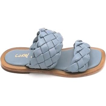 Scarpe Donna Sandali Coral Blue K221.16 Azzurro