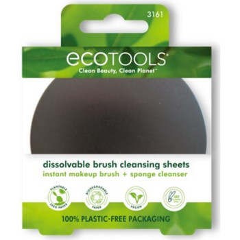 Bellezza Pennelli Ecotools Dissolvable Brush Cleansing Sheets