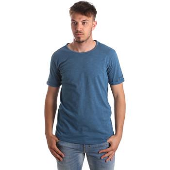 Abbigliamento Uomo T-shirt & Polo Gaudi 911BU64027 Blu