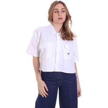 Abbigliamento Donna Camicie Dickies DK0A4XE1WHX1 Bianco