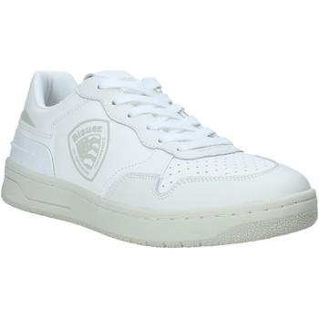 Scarpe Uomo Sneakers basse Blauer S1DAYTON01/PUR Bianco