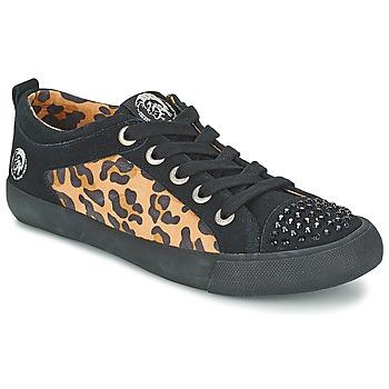 Scarpe Donna Sneakers basse Diesel LEOPAR Nero