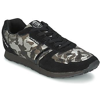 Scarpe Donna Sneakers basse Diesel CAMOUFLAGE Nero