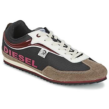 Scarpe Uomo Sneakers basse Diesel Basket Diesel Marrone