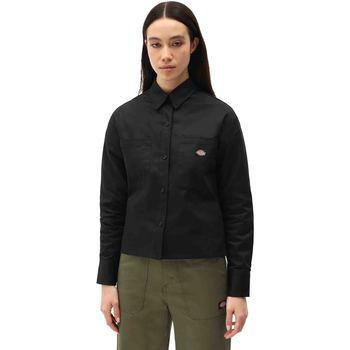 Abbigliamento Donna Camicie Dickies DK0A4XETBLK1 Nero