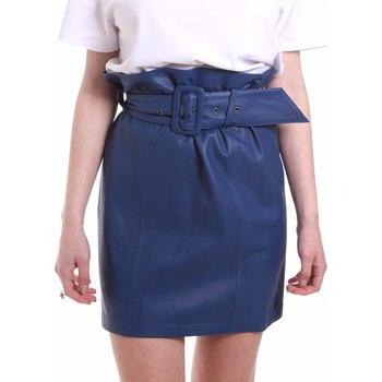 Abbigliamento Donna Gonne Federica Tosi FTE20GO036.0VPELLE Blu