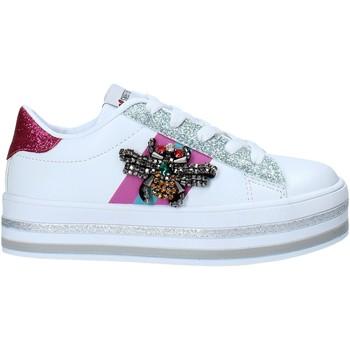 Scarpe Unisex bambino Sneakers basse Sweet Years S21-S00SK416 Bianco