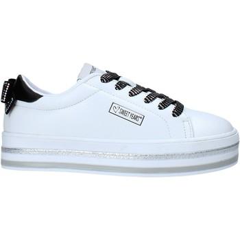 Scarpe Unisex bambino Sneakers basse Sweet Years S21-S00SK415 Bianco