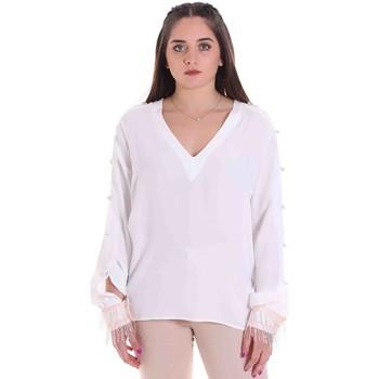 Abbigliamento Donna Top / Blusa Cristinaeffe 0114 2291 Bianco