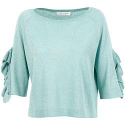 Abbigliamento Donna Maglioni Café Noir JM6220 Verde