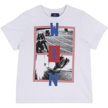 Abbigliamento Unisex bambino T-shirt maniche corte Chicco 09067134000000 Bianco