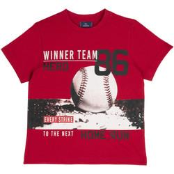 Abbigliamento Unisex bambino T-shirt maniche corte Chicco 09067134000000 Rosso