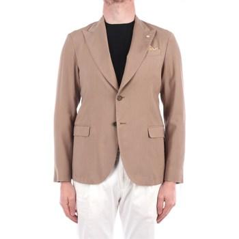 Abbigliamento Uomo Giacche / Blazer Manuel Ritz 3032G2748TW-213005 Blazer Uomo Beige Beige