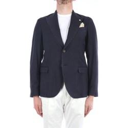 Abbigliamento Uomo Giacche / Blazer Manuel Ritz 3032G2748TW-213005 Blazer Uomo Blu Blu