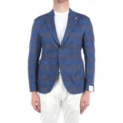 Abbigliamento Uomo Giacche / Blazer Lbm 1911 15794-2819 Blazer Uomo Azzurro Azzurro