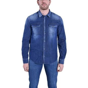 Abbigliamento Uomo Pantaloni Dondup CAMICIA IN JEANS DENIM