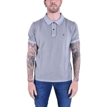 Abbigliamento T-shirt & Polo Dondup POLO IN COTONE GRIGIO