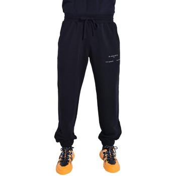 Abbigliamento Pantaloni da tuta Ih Nom Uh Nit SWEATPANTS WITH HERITAGE ON LEFT LEG NERO