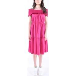 Abbigliamento Donna Abiti lunghi Patrizia Pepe ABITO AZALEA (2A2184) ROSA