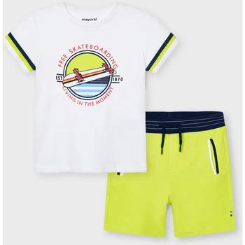 Abbigliamento Unisex bambino Completo Mayoral ATRMPN-26608 Verde