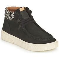 Scarpe Donna Sneakers alte Palladium Manufacture TEMPO 10 SUD Nero