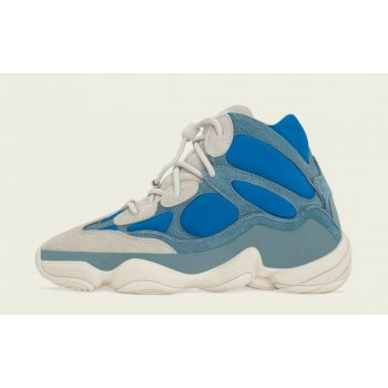 Scarpe Sneakers alte adidas Originals Yeezy 500 High Frosted Blue Frosted Blue