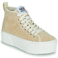 Scarpe Donna Sneakers alte No Name IRON MID Beige