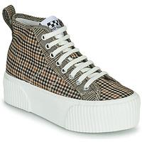 Scarpe Donna Sneakers alte No Name IRON MID Marrone