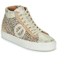 Scarpe Donna Sneakers alte No Name STRIKE MID CUT Beige