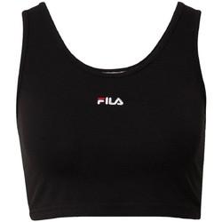 Abbigliamento Donna T-shirt maniche corte Fila Canottiera  Women Anah Cropped Top 688485 Donna Nero Nero