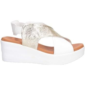 Scarpe Donna Sandali Hersuade 1600 Sandalo Donna PLATINO/BIANCO PLATINO/BIANCO