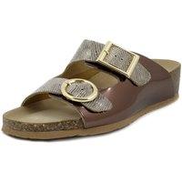 Scarpe Donna Ciabatte Bionatura Sandalo marrone bronzo