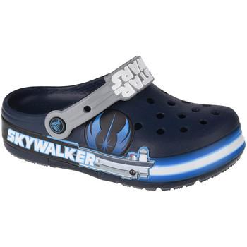 Scarpe Unisex bambino Zoccoli Crocs Fun Lab Luke Skywalker Lights K Clog Bleu marine