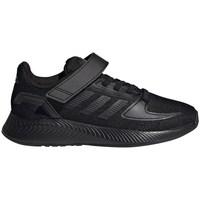Scarpe Unisex bambino Running / Trail adidas Originals Runfalcon 20 C Nero