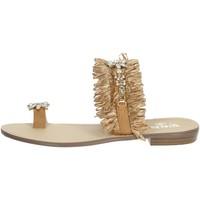 Scarpe Donna Infradito Gold & Gold GL613 CUOIO